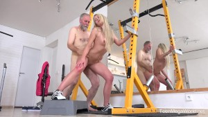 Old-n-Young.com - Martina D - Gym brings sex addicts together