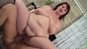 Sucking Fucking And Cumshot For Redhead Fat Slut