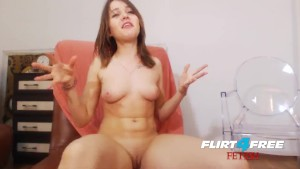 Skylar Jewels - Flirt4Free Fetish Model - Sexy Euro with Foot Fetish Plays with Ass and Squirts