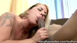 Hairy Pussy Joclyn Stone Cum In Mouth