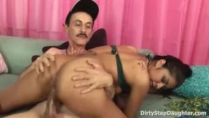 Bitchy Latina Stepdaughter Ruby Rayes Fucks PE Teacher