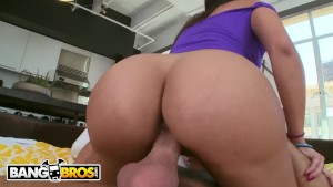BANGBROS - Latina MILF Mercedes Carrera Has A Very Impressive Big Ass