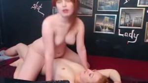 Redhead Lesbians Do Hot Pussy Licking