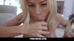 PervMom - Busty Mature Milf Fucks Her Stepson
