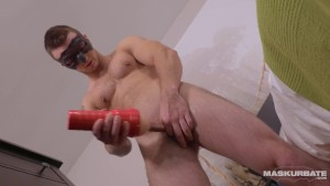Maskurbate Str8 French Guy Loves Mounting this Toy!