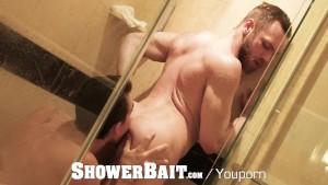 ShowerBait Straight bait wet shower fuck