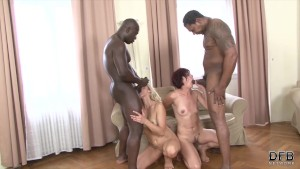 Black guys fuck matures hard face and pussy fucking with cum licking