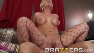 Brazzers - Fucking my gf's white trash mother in the ass - Phoenix Marie