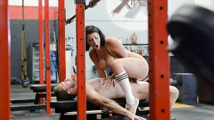 TeamSkeet - Sliding Cock into Workout Chick