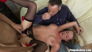 Paige Ashley fucks strange man in front of her husband
