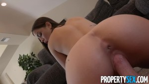PropertySex - Young attractive real estate agent fucks client