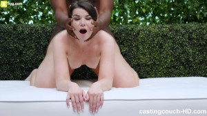 Thick White Girl Loved Fucking Her First Black Guy