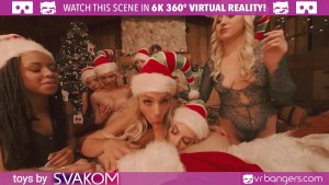 VRBangers.com-Christams Orgy With Abella Danger And Her 7 Sexy Elves VR Porn