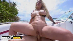 BANGBROS - Cap'n Jmac Reels In Some Big Ass On His Weekend Boat Trip