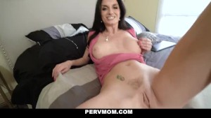 PervMom - Sexy MILF Rides Her Step Sons Stiff Cock