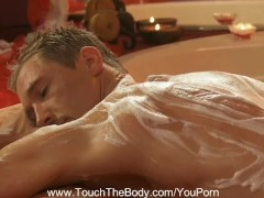 Touch The Body Gently...