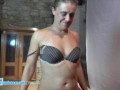 Czech wife does sensual...