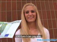 PublicAgent Hot Blonde with...