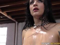 Katrina Jade sucks many...