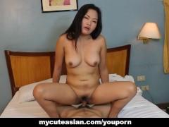 Medium sized Asian bitch...