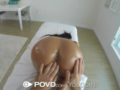 POVD Oiled up massage...