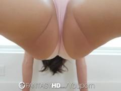 FantasyHD Flexible dancer brunette...