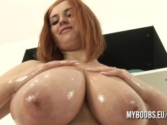 Alexsis Faye oiled her...