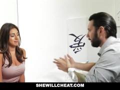 SheWillCheat - Busty Babe Ella...