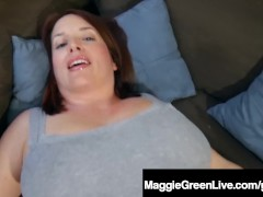 Natural Boobed Maggie Green...