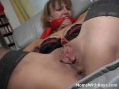 tied and bound pierced vagina milf