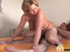 granny doc with huge tits
