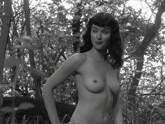 Grethchen Mol nude in forest
