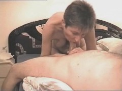Milf, just a quick german blowjob