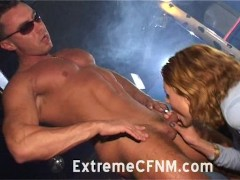 Wild Girls suck cock at CFNM party