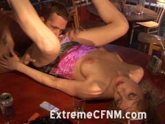 CFNM Party, cock sucking and pussy licking