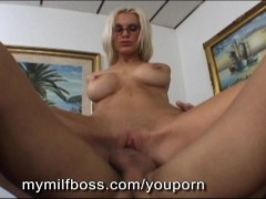 Employee Nails His Hot Milf Boss