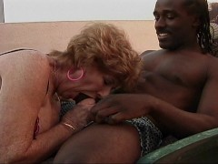 Grannys got a black guy