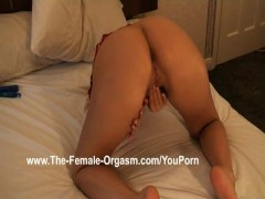 Solo Masturbation and Snapping Orgasms