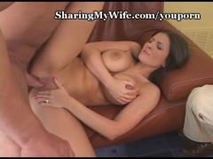 Sharing My Wife's Big Tits
