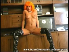 Cisara stripping in latex
