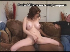 Huge Load Dumped On Her Pussy
