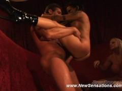 Regan Reese & Savanah Gold Share A Hard Cock