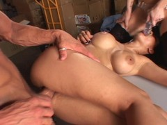 Two cunts + One dick and a dildo = HOT CUM