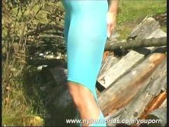 Outdoor nylon strip