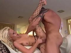 Holly Wellin fencenet pantyhose sex