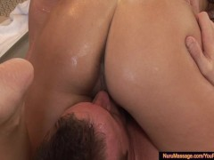 Miko Sinz in Hot 69 Action During a Massage