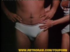 Classic retro handjob movie