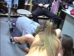 Store owners hire new sales girls