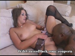Wifey Takes Thick Black Cock