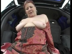 Large lady handles herself just right